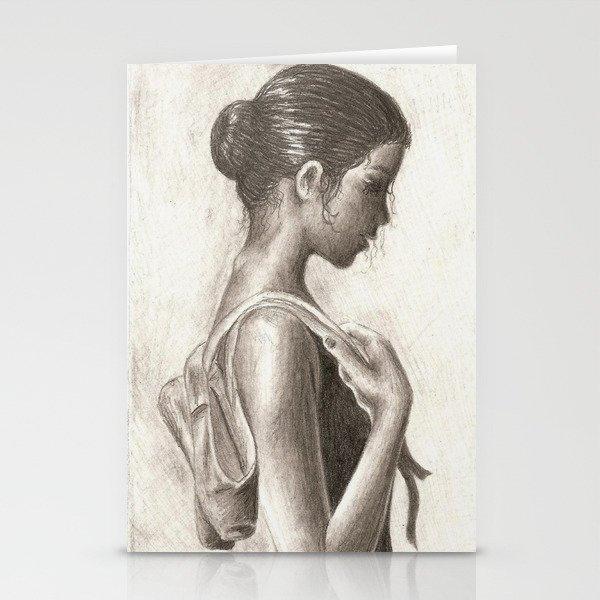 Ballerina Stationery Cards
