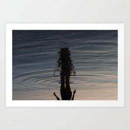 Reflecting Art Print