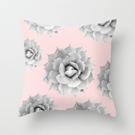 Flowery Nature VII Throw Pillow