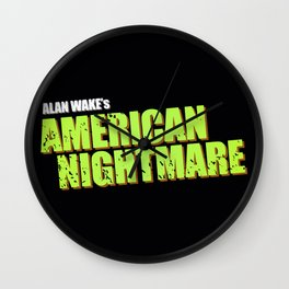 night mare Wall Clock