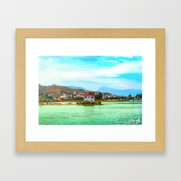 Soft rush Framed Art Print
