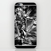 basketball iPhone & iPod Skins featuring Basketball by Alea Lefevre
