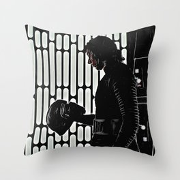 Kylo in the Dark Throw Pillow