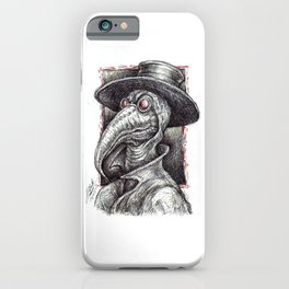 Plague Doctor iPhone Case