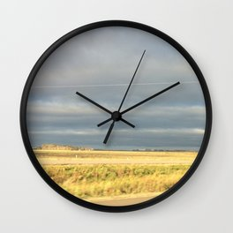 Field and Sky Wall Clock