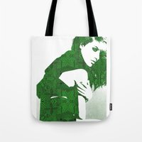 henna Tote Bags featuring Aztec Henna by fashionistheonlycure