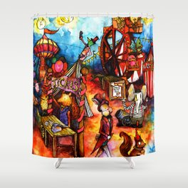 Come One, Come All! Shower Curtain