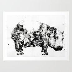 Chaos and order 1 Art Print