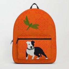 Staffordshire Bull Terrier Dog Backpack