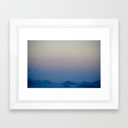 Tortola Framed Art Print
