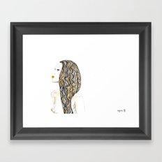 yellow rasta Framed Art Print