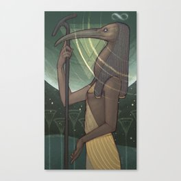 Thoth the Magician Canvas Print