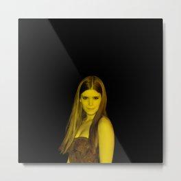 Keith Mara - Celebrity (Florescent Color Technique) Metal Print