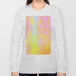 Summer Joy Abstract Long Sleeve T-shirt