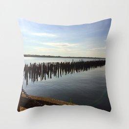 Narragansett Bay, RI Throw Pillow