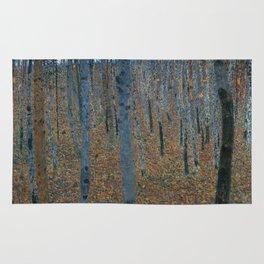 Gustav Klimt - Beech Grove Rug