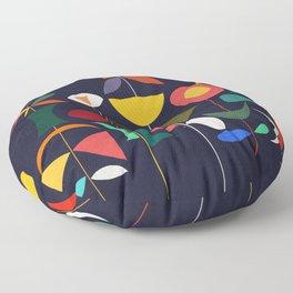 Klee's Garden Floor Pillow