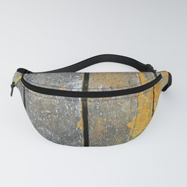 Ocean Weathered Wood With Lichen Fanny Pack