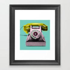 Call Marylin Framed Art Print