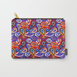 Bright paisley seamless pattern. Carry-All Pouch