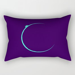 Eclipsed Rectangular Pillow