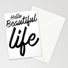Hello Beautiful Life Stationery Cards