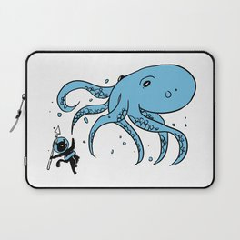 Deep Sea Battle Laptop Sleeve