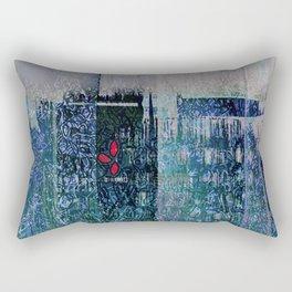 Green Concrete Rectangular Pillow