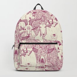 just goats cherry pearl Backpack