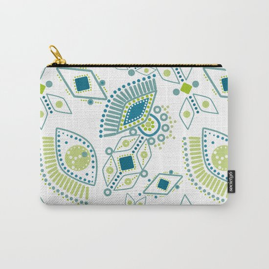 Ethnic pattern . Eye 2 . Carry-All Pouch