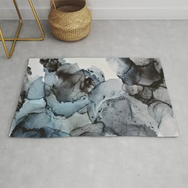 Smoke Show - Alcohol Ink Painting Rug