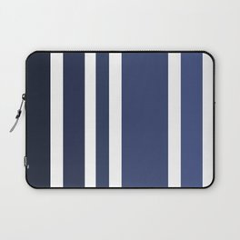 Striped Ombre in Blue Laptop Sleeve