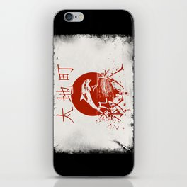 Taiji Murder iPhone Skin