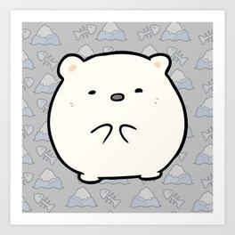 Little Polar Art Print