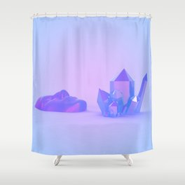 Each of Us is a Place Shower Curtain