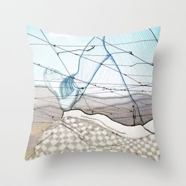 Viagem#3 Throw Pillow