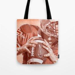 American Football Tote Bag