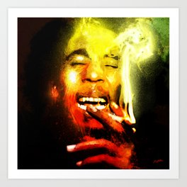 Jah is Mighty Art Print