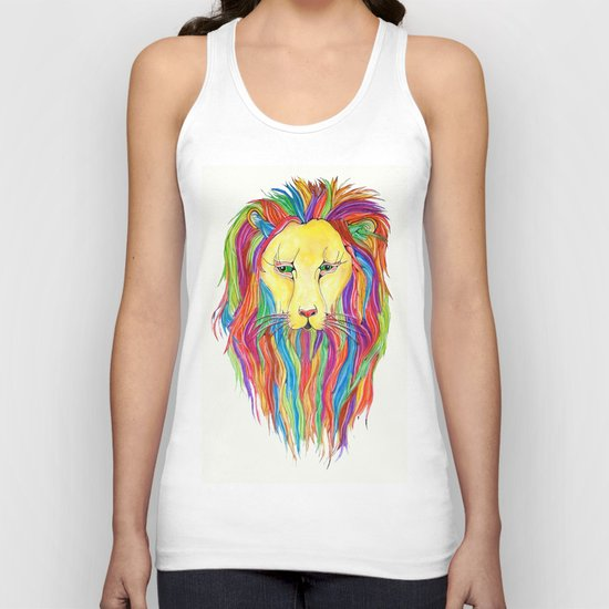 Dandy Lion Unisex Tank Top