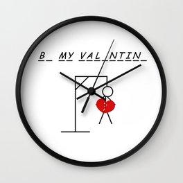 B_ My Val_ntin_ Wall Clock