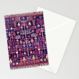 Bakhtiari Khan West Central Persian Rug Print Stationery Cards