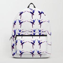 Watercolor Ballerina Backpack