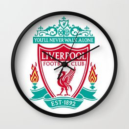 Liverpool Logo Wall Clock