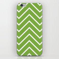 Lime Chevron iPhone & iPod Skin