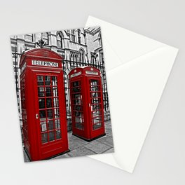 London phone home Stationery Cards