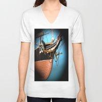 alabama V-neck T-shirts featuring Alabama -zvonekmakete by Bitifoto