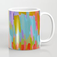 pastel Mugs featuring Pastel by elikourY