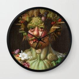 Rudolf II of Habsburg as Vertumnus Wall Clock