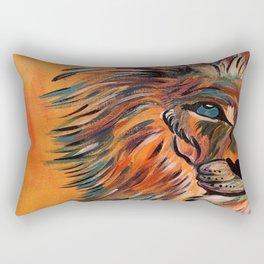 lion face Rectangular Pillow