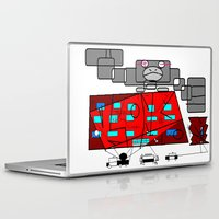 fibonacci Laptop & iPad Skins featuring FIBONACCI  by PlanetLOUDville
